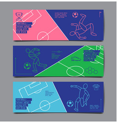 template sport layout design flat design single vector image