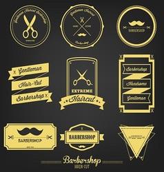 Barbershop Vintage Label vector image vector image