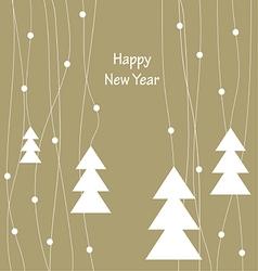 happy new year 2123 vector image vector image