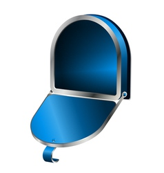 Open Mailbox vector image vector image