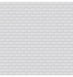 texture of white brick vector image