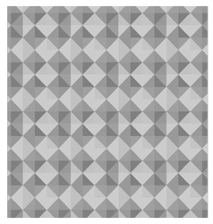 abstract geometric gray background vector image