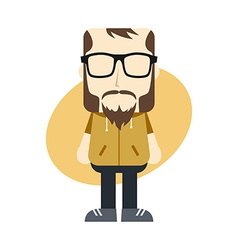 Cartoon guy avatar picture vector