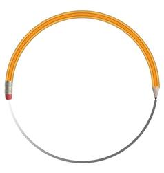 Circle Pencil vector