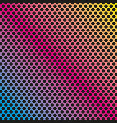 colored polygon background pattern geometric vector image