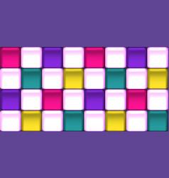Colorful wallpaper with elegant memphis tiles vector