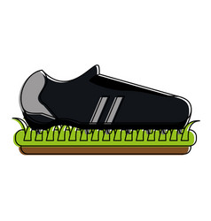 football or soccer related icon image vector image