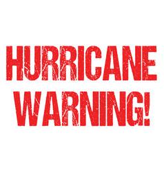 Hurricane typo header news logo for banner design vector