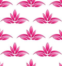 Lotus pattern backgroundSeamless vector image