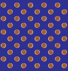 polka dots geometric seamless pattern 601 vector image