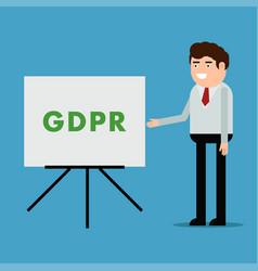 Report on gdpr vector
