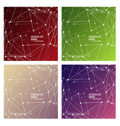 Set minimal geometric background dynamic vector