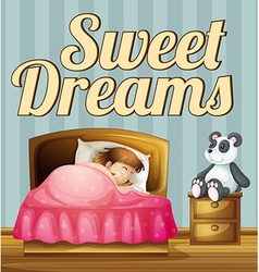 Sweet dream vector