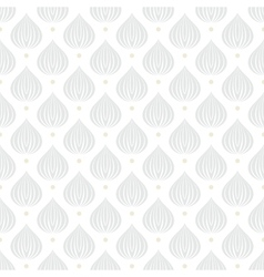 White geometric texture with drops vector