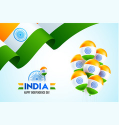15th august independence day india vector