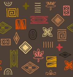 African ethnic pattern for printing vector