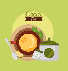 Coffee and tea time vector