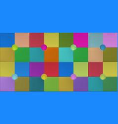 Colorful wallpaper design with elegant memphis vector