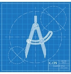 Compasses icon Eps10 vector