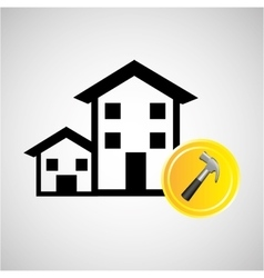 construction remodel screw icon graphic vector image