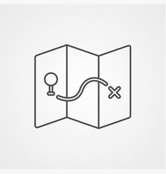 maps icon sign symbol vector image
