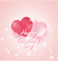 postcard to the celebration of valentine s day vector image