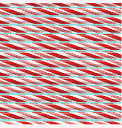 Seamless pattern with candy lines vector