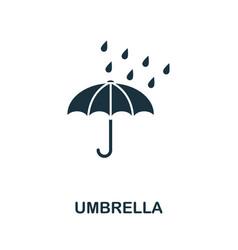 umbrella icon symbol creative sign from umbrella vector image