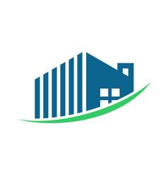 Uprising property management logo vector