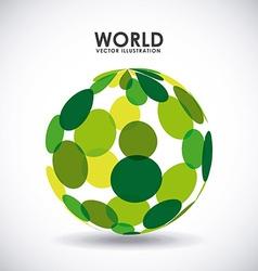 world icon vector image