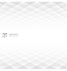 abstract squares pattern geometric white and gray vector image vector image