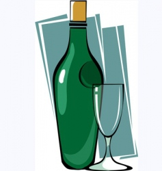 goblet vector image vector image