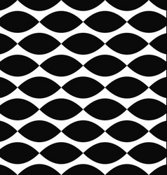 Monochrome curved shape pattern background vector
