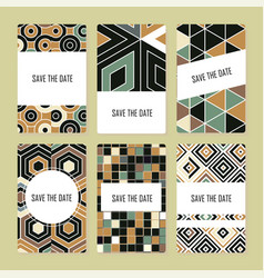 perfect pattern set vector image