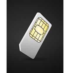 sim card vector image