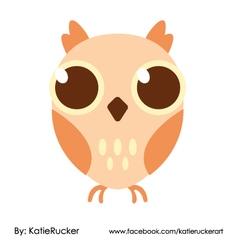 Big Eyes owl vector