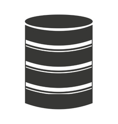 hard disk storage icon vector image