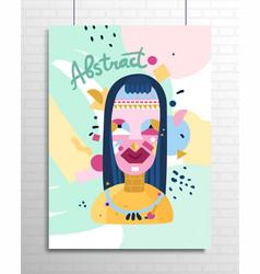 Human inner world poster vector