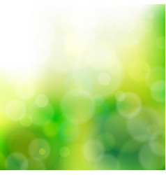 lights on green background vector image