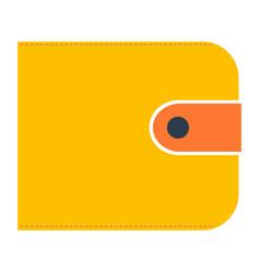 Money wallet with dollar cash vector