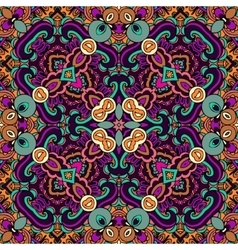 Tribal ethnic seamless pattern ornamental vector image vector image