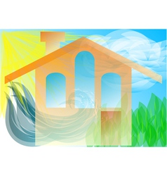 home concept vector image vector image