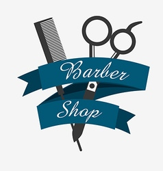 Barber shop business cards templates vector images 82 barber shop design vector wajeb Choice Image