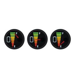 battery gauge vector image