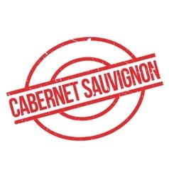 Cabernet Sauvignon rubber stamp vector
