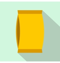 Cardboard packaging flat icon vector image