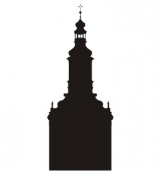 Church buildings vector