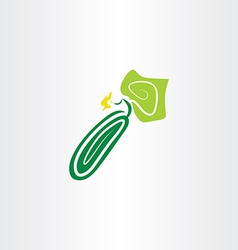 cucumber icon clipart logo vector image