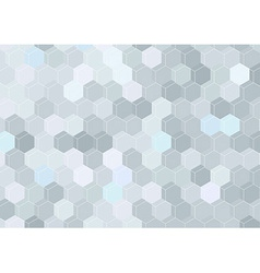 Geometrical hexagon structure background template vector image