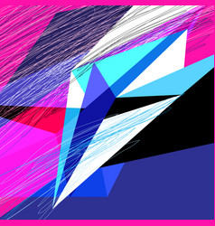 lovely abstract background vector image